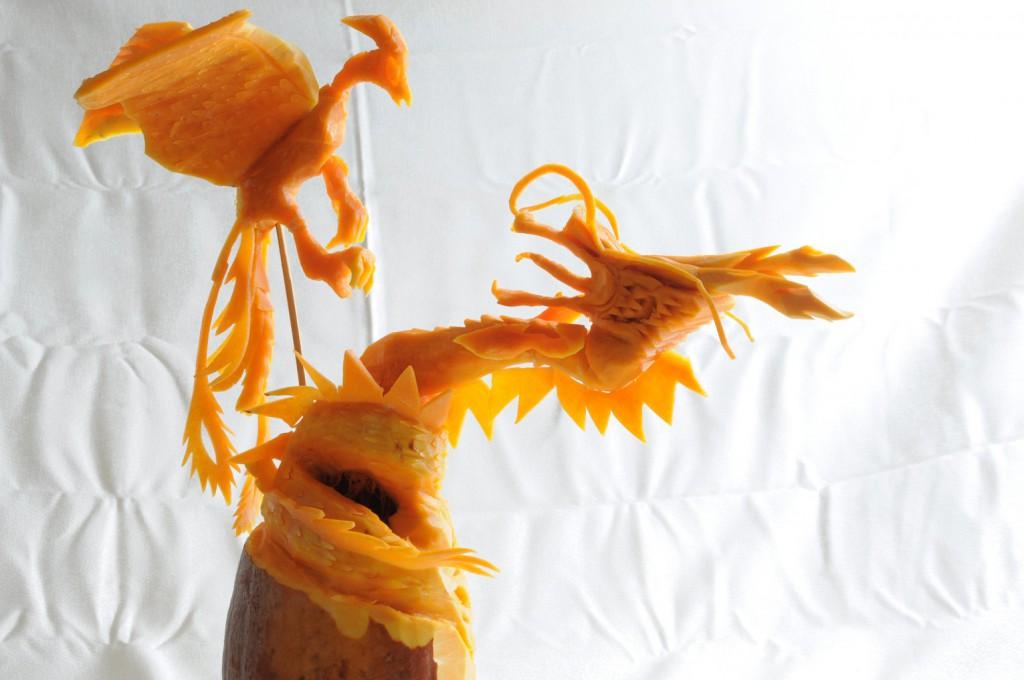 光燕|内田氏の彫刻