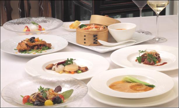 お昼のコース料理Noovelle Chinous