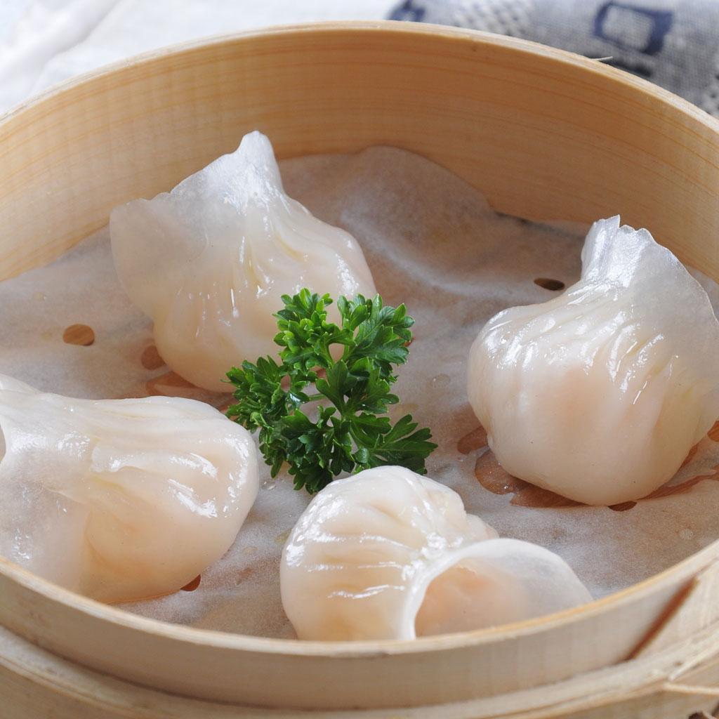 弹性十足的虾饺皇。